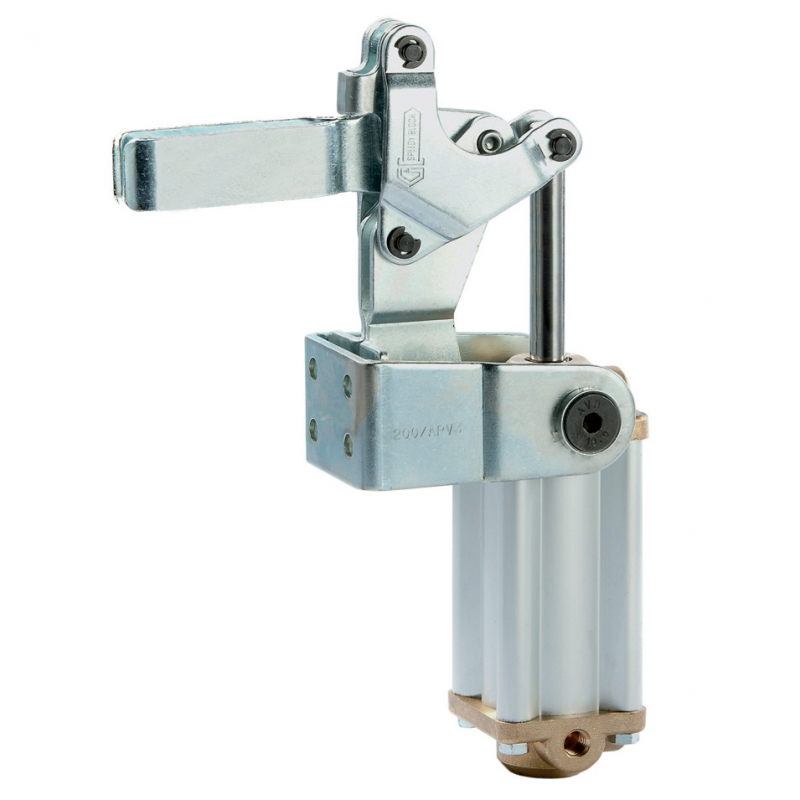 Dispozitiv pneumatic vertical