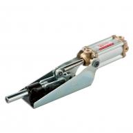 Dispozitiv pneumatic cu impingere
