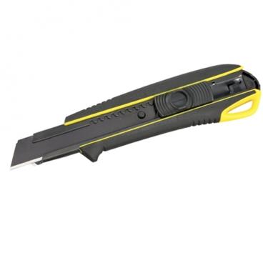 Cutter Tajima DC560 18 mm galben cu maner antialunecare cu elastomer