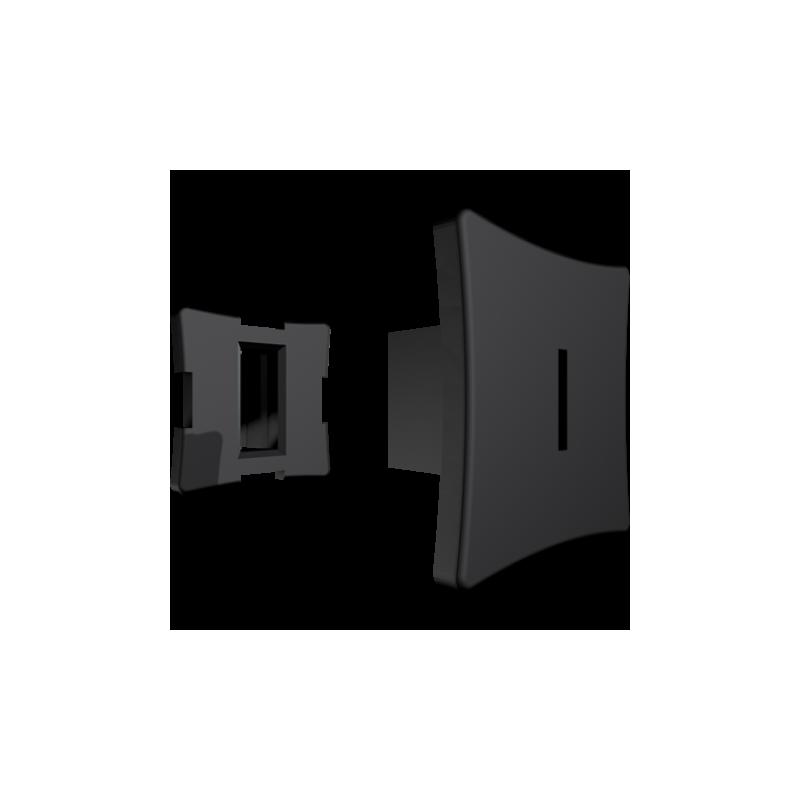 T-clips 8mm - Culoarea neagra