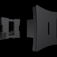 Cutie cu 25 t-clips 10mm - Culoarea neagra