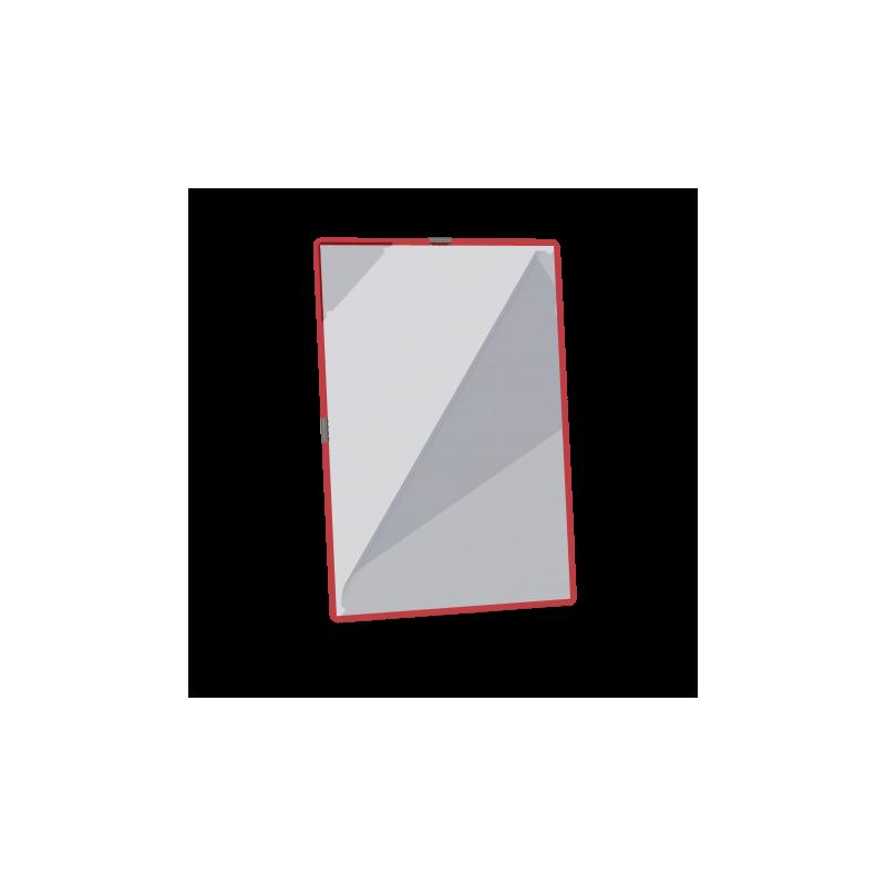 Folii cu inele metalice  Easyload - Culoarea rosu inchis