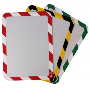 Folie Magneto Safety Magnetic - Rosu/alb (2 folii)