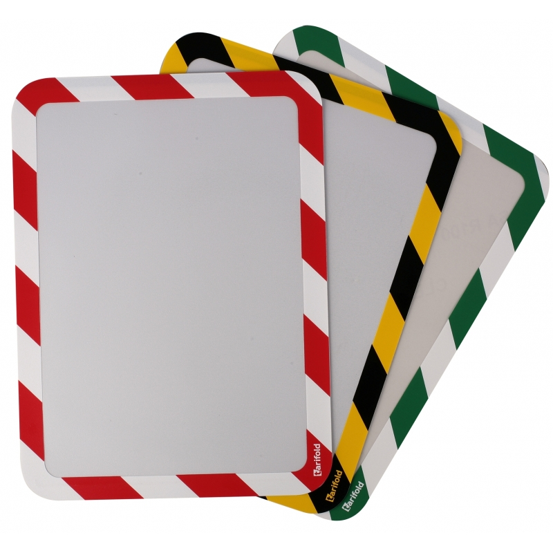 Folie Magneto Safety Magnetic - Galben/negru (2 folii)