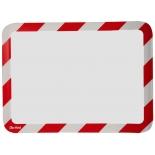 Folie Magneto Safety Adeziv - Rosu/alb (2 folii)