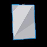Folii cu inele metalice Easyload - Culoarea Albastra