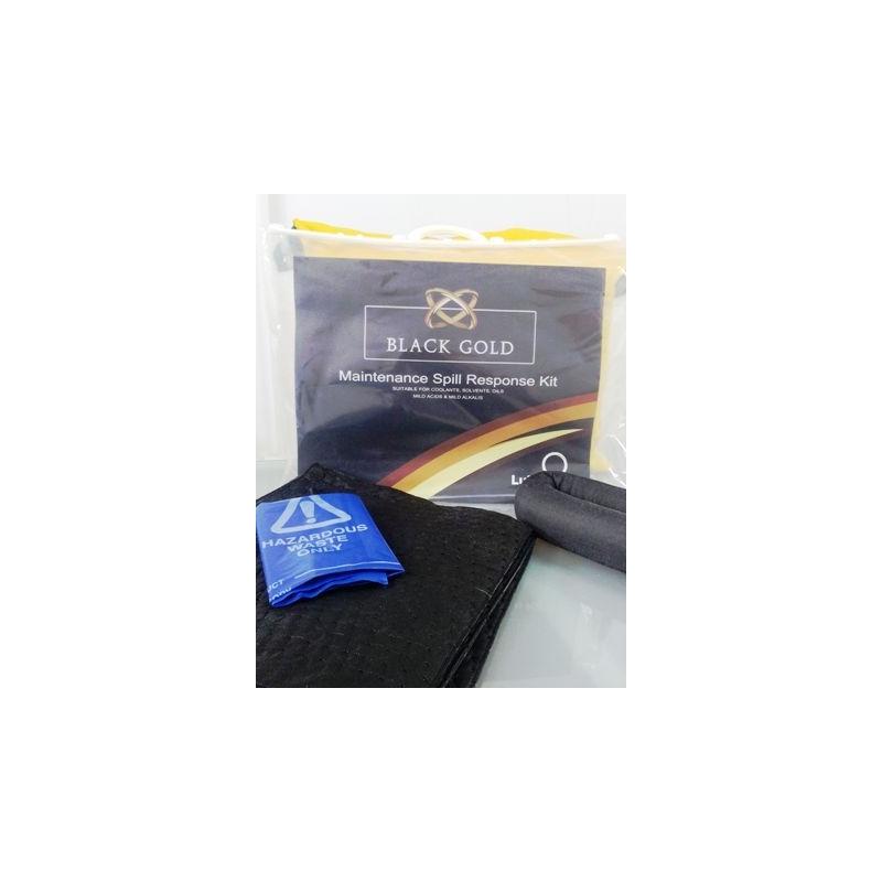 Kit materiale absorbante pentru mentenanta -15L Gama Blackgold