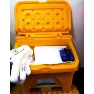 Kit materiale absorbante pentru ulei-120L Gama Superior