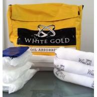 Kit materiale absorbante pentru ulei -50L Gama Whitegold